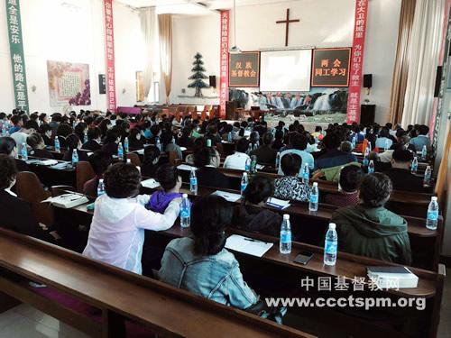 联合敬拜促合一 真理装备迎挑战_基督教-朝鲜族-全县-安图县-全县-安图县-基督