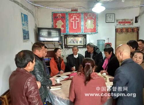 谭塘桥聚会点举行首次感恩见证会_牧师-基督-聚会-教堂-教堂
