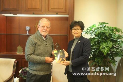 澳大利亚联合教会客人访问中国基督教两会