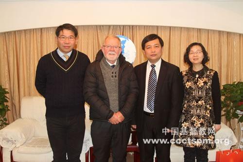 澳大利亚联合教会访问陕西省教会