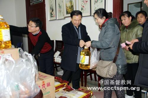 武汉市基督教荣光堂新春慰问暨新年教会事工交通会