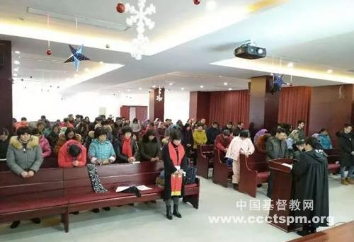 昆山市基督教会各堂所举行新春感恩崇拜