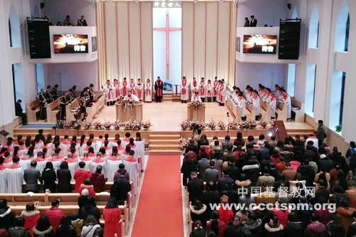 福州市连江县黄岐教堂举行献堂典礼
