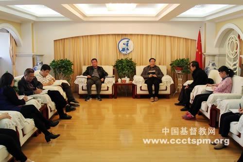 陕西省基督教两会召开全体同工会议