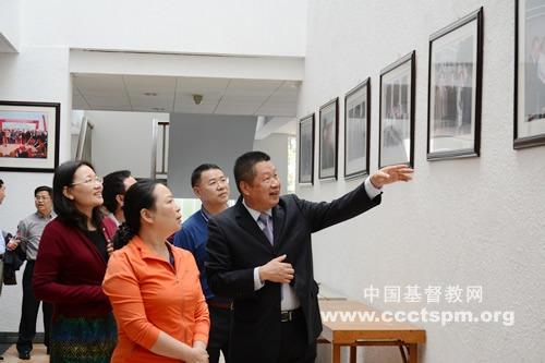 广东省民宗委领导到金陵协和神学院调研参访