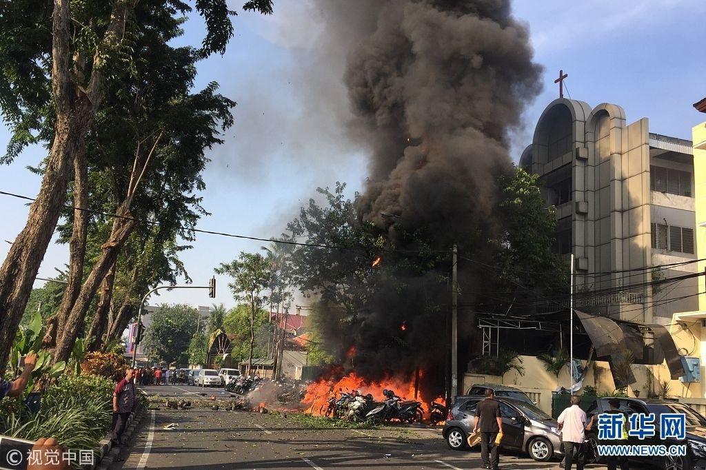 印尼三座基督教堂遭遇炸弹袭击 世基联呼吁祷告联合