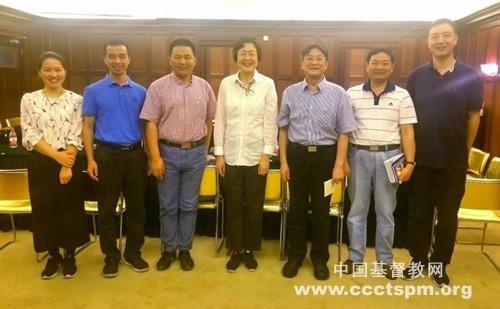 中国反邪教协会秘书长王慧梅一行走访基督教全国两会