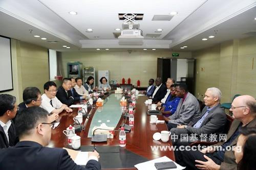 非洲代表团访问金陵协和神学院