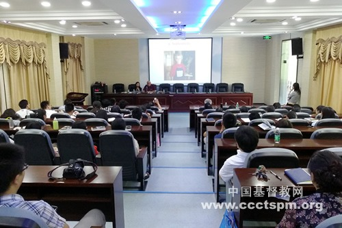 《葛培理夫妇的人生态度》作者汉斯彼得·尼施访问江苏神学院