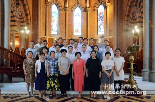 《中国基督教史教材(试行)》座谈会在上海举行