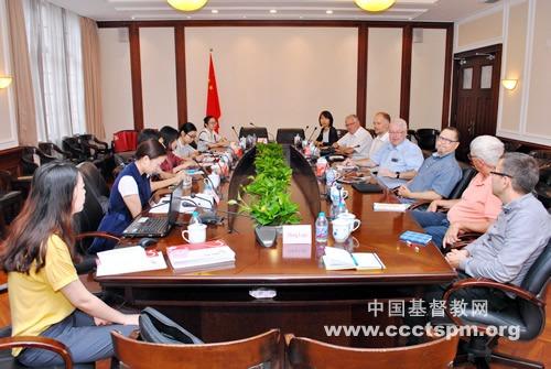 挪威圣经公会一行访问中国基督教两会