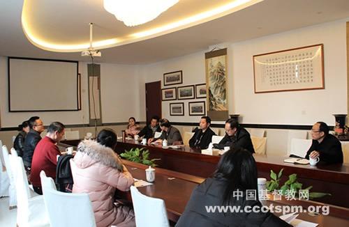 """浙江省基督教两会本届""""圣乐事工委员会""""第一次会议在杭州召开"""