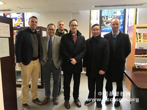 英国圣公会肯辛顿地区主教一行访问苏州教会