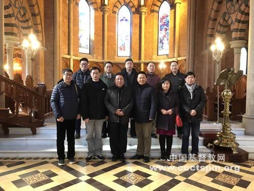 天津市基督教两会新班子成员访问基督教全国两会
