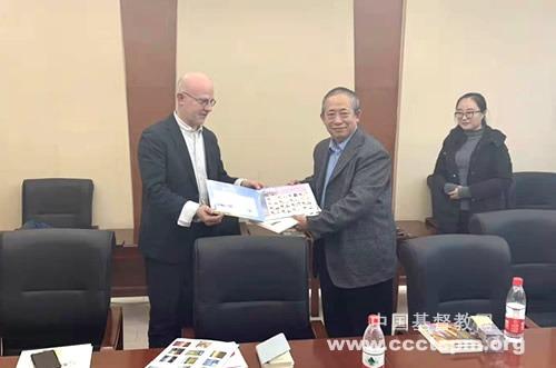 德国新教福音事工协会一行三人访问黑龙江神学院