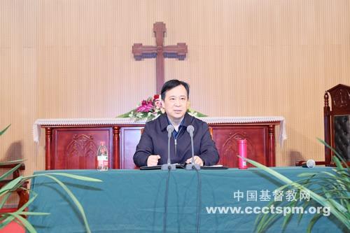 """金陵协和神学院举行""""改革开放与我国基督教发展""""讲座"""