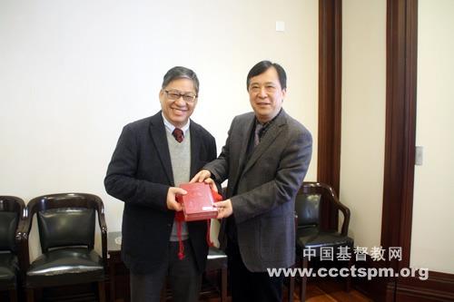 香港福音证主协会访问团一行来访