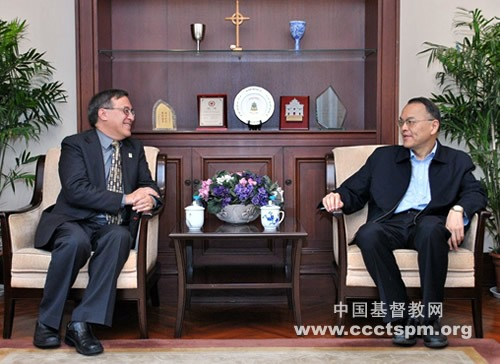 美国福音信义会全球宣教部亚太区主任来访