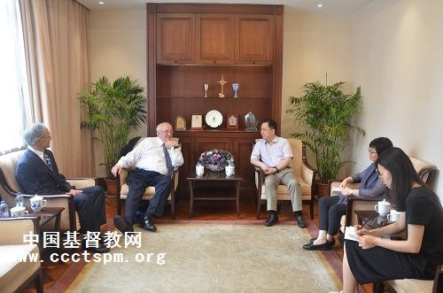 富勒神学院代表团到访中国基督教两会