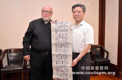 芬兰圣经公会到访中国基督教两会