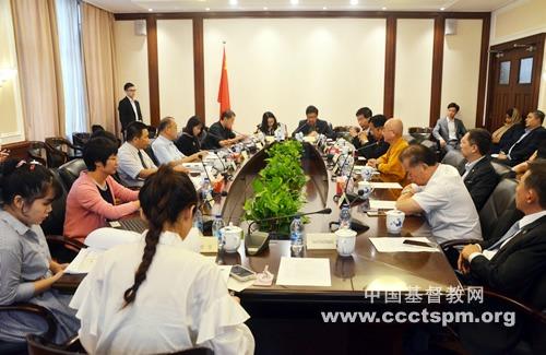新加坡宗教联谊会到访中国基督教两会