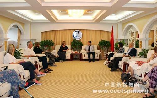 陕西省基督教两会接待英国和爱尔兰联合会访问团