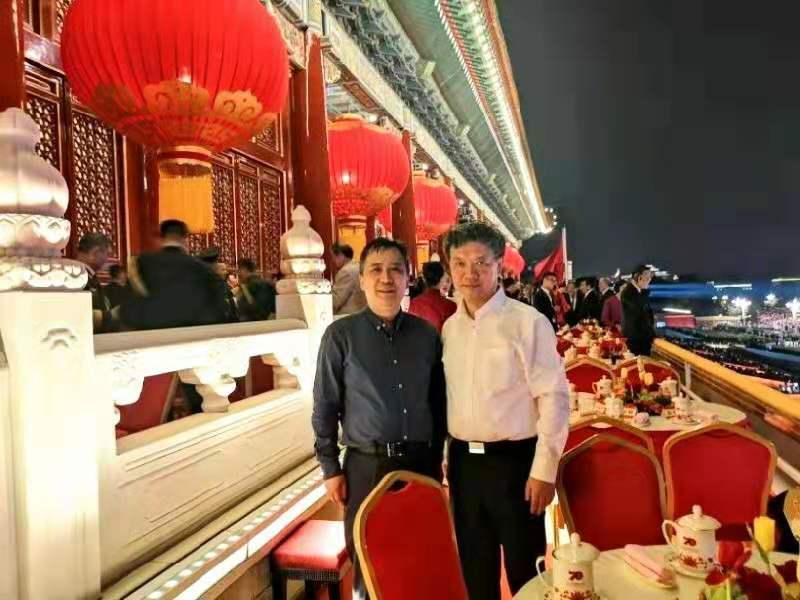 徐晓鸿牧师和吴巍牧师应邀参加庆祝中华人民共和国成立70周年大会
