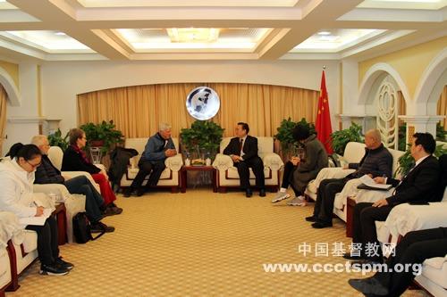 加拿大联合教会访问团一行到访陕西省基督教两会