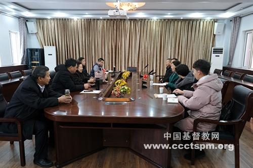 锡林郭勒盟基督教两会班子成员赴内蒙古基督教两会进行工作述职汇报