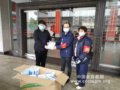 抗击疫情,江西省基督教两会在行动