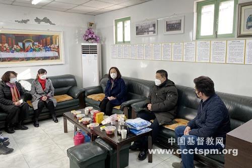 天津市基督教两会深入基层教会检查指导疫情防控工作