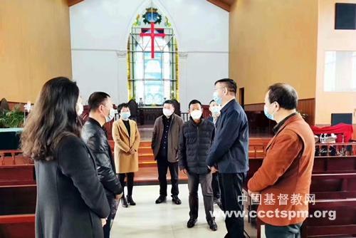 福建省基督教两会赴南平开展慰问活动