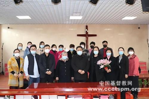 天津市基督教两会赴武清区指导农村基层教会防疫工作