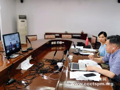 华东神学院举行2020届毕业生网络论文答辩