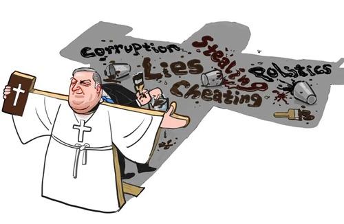 《中国日报》评论:一个以基督徒包装的虚伪政客