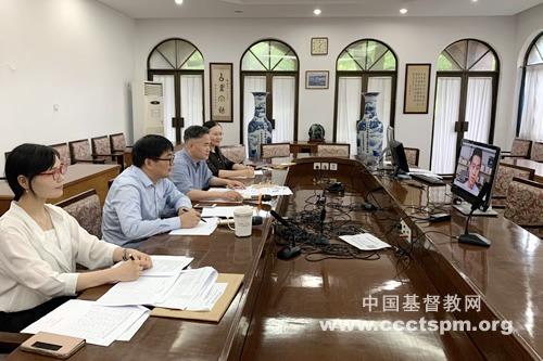 华东神学院举行2020年神学本科招生考试及网络面试