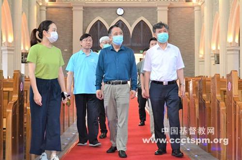 基督教全国两会负责人走访苏州教会