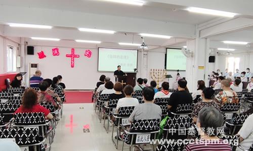 天津市基督教两会部分堂点有序恢复聚会