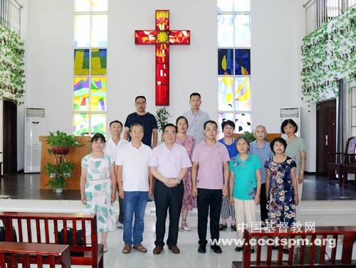 陕西省基督教两会班子成员分组赴全省基层教会开展调研事工