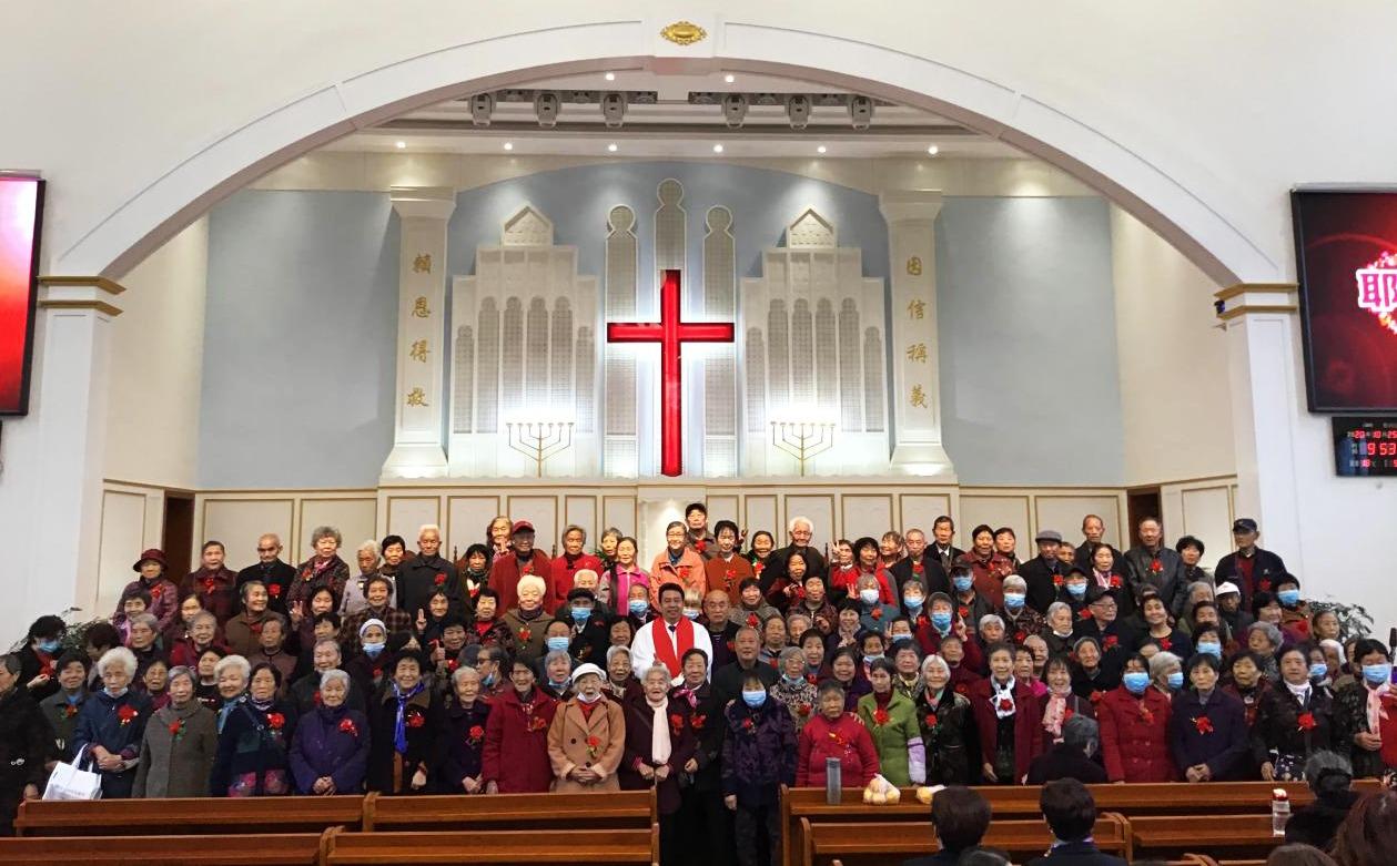 【综合】各地教会举行重阳节敬老活动