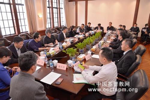 广西壮族自治区民宗委一行访问基督教全国两会