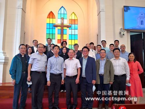 澳门基督教界代表人士访问团访问广东省基督教两会