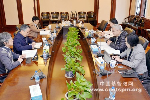 中央社会主义学院袁莎副院长一行到访基督教全国两会