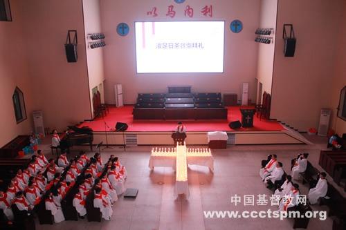江西圣经学校举行纪念耶稣受难系列活动