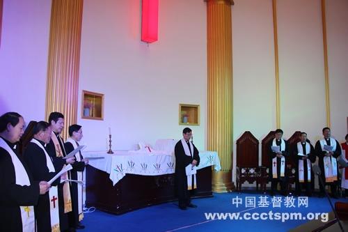 和平·和谐·合一——河南神学院举行团契日圣餐崇拜