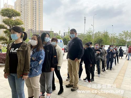 中南神学院全体师生接种新冠疫苗