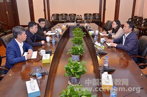 上海市委统战部王霄汉副部长走访基督教全国两会