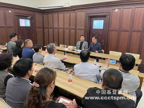陕西汉中基督教两会参访基督教全国两会