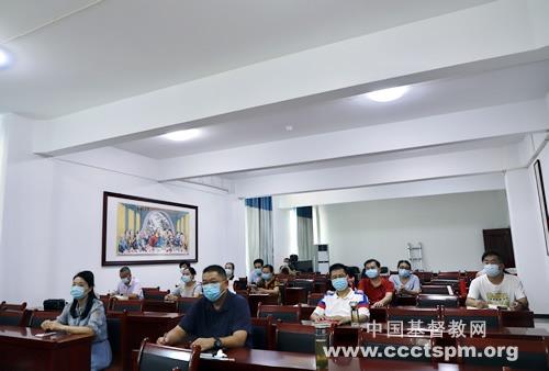 中南神学院举行2021年秋学期第一次全体教职工会议