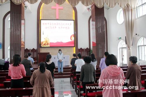【综合】各地基督教会举行纪念中国人民抗日战争暨世界反法西斯战争胜利76周年和平祈祷活动(五)